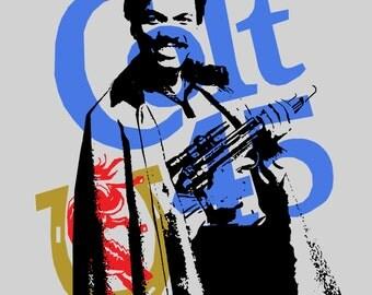"Lando Colt 45 Print - Star Wars 12"" x 12"""