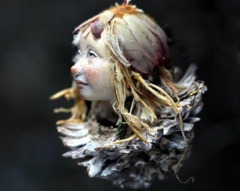 Pixie girl Nelly handmade decoration