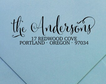 """Personalized Return Address Stamp 