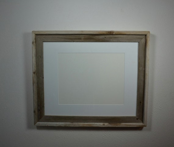 16x20 Barnwood Frame With Mat For 11x14 Or 12x16 Or By