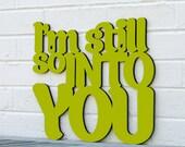 I'm Still so Into You (love)