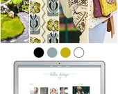Mobile Responsive Blogger Template | Premade Blogger Template | Blog Design Bella Design