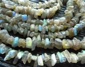 rough labradorite beads, raw labradorite beads, labradorite strand, chunky labradorite beads