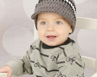 Toddler Boy Hat 1T to 2T Elephant Gray Toddler Hat Black White Toddler Boy Clothes Fall Hat Winter Hat Cotton Hat Crochet Toddler Hat Knit