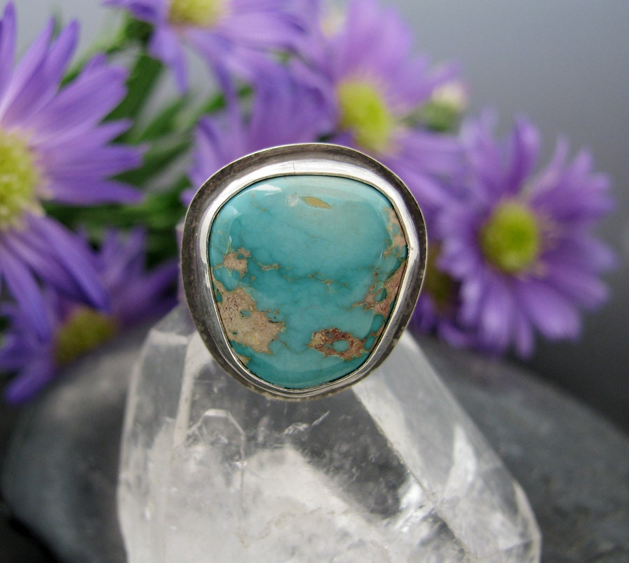Royston Turquoise Ring Sterling Silver Turquoise By