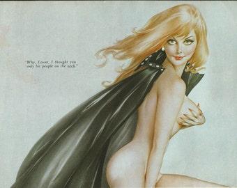 1#  Halloween Vampire Vargas Pin up Girl Nude Pictures Playboy