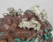 Sterling Silver Train Engine Charms