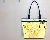 Yuuta tote bag, Camilla d'Errico, book tote, large purse, canvas tote, shoulder bag
