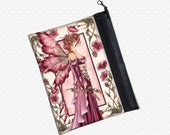 Fairy Bride Amy Brown bag zippered pouch wristlet, travel bag,