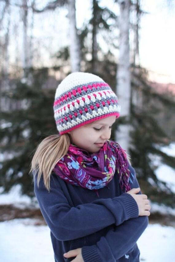 Crochet Pattern - Galilee Hat Pattern (Newborn to Adult)