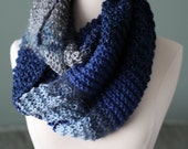 Stormy Day Circle Scarf