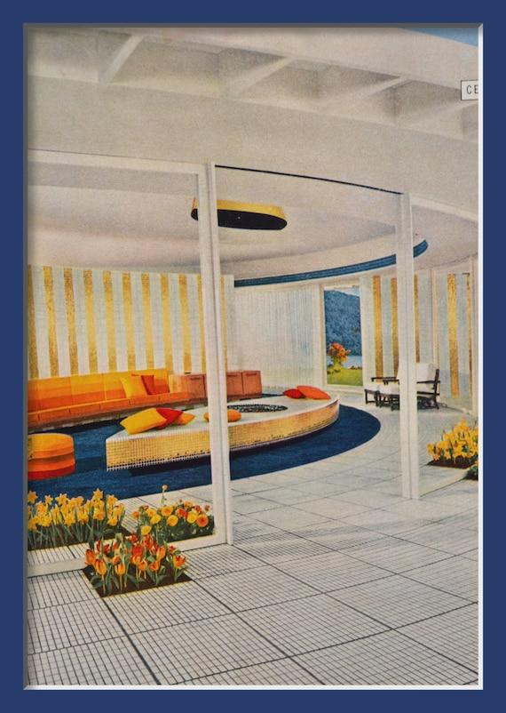 Vintage Ad 1957 Home Decor Modern Decorating Print