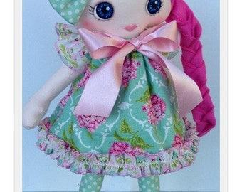 Handmade cloth doll  16 inch.