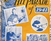 The Hillbilly Hit Parade of 1941, Rockabilly Songbook Pre WWII Classic Country Music