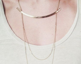 Opposing Arrows Necklace