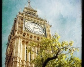 The Clock Tower  -  Fine Art Print - London Photography - TFTeam - London Landscape Photograph