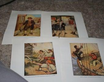 Treasure Island Illustrations