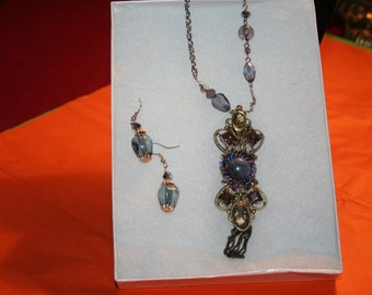 Victorian Lavender necklace