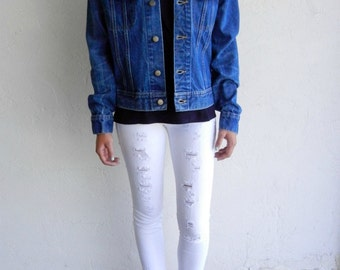 The Vintage Lee Medium Wash Denim Jacket