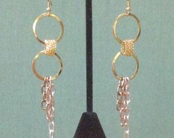 CLEARANCE>> Was 20/Now 11 Extra Long Earrings,  Chain Earrings