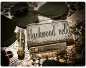 the blackwood cello - natural perfume oil mini sampler twin pack - primary notes: burmese wood, ebony, pine rosin, black amber and musk