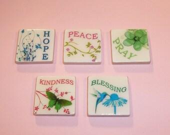Inspirational Words---Magnet Set-Magnets