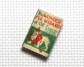 Needle Minder Miniature Book Wizard of Oz 1 Inch