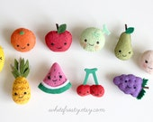 Fruit Felt Brooch Pin - (Select one)
