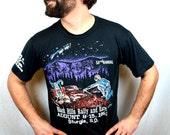 Vintage 1993 Harley Davidson Motorcycle 90s  Sturgis Tee Shirt