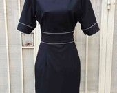 ZIPPER detail dress pencil celeb dress inspired from custom made