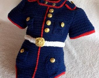 Marine Corps Bodysuit - usmc Marine - Marine Corps Baby - usmc - Marine Corps Baby Body Suit - Hobbyist License 21512