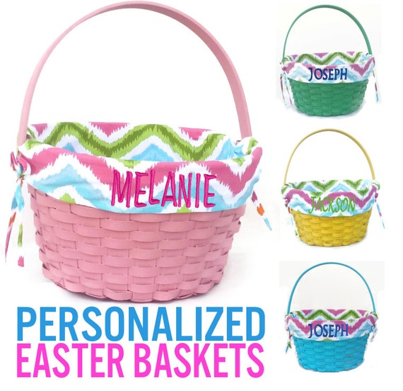The Gallery For Personalized Easter Baskets For Kids