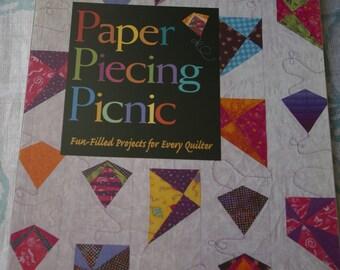 DESTASH...Paper Piecing Picnic