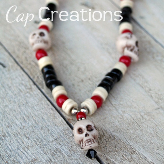 Skull Necklace for Boy or Child