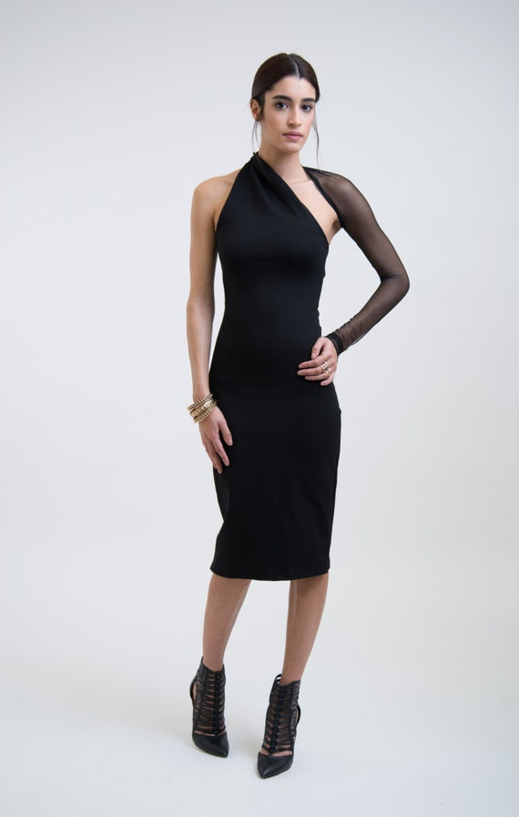 Evening pencil dress
