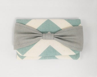 Cute Wallet chevron business card holder slim vegan wallet womens wallet small womens wallet fabric credit card wallet girl quick shipping