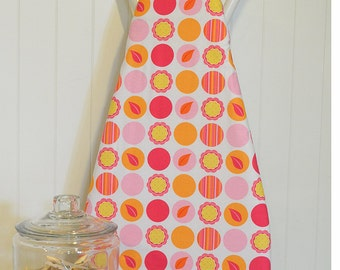 Designer Ironing Board Cover - Andalucia Mod Dots Berry