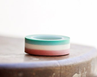 CANDY CLOUD STRIPE Washi Tape-  Single Roll 15 mm x 10 m