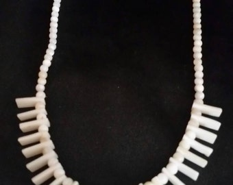 SALE Mother of Pearl and Shell Necklace