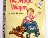 """A Ding Dong School Book- """"THE MAGIC WAGON""""- by Miss Frances famous '50's Television Program"""
