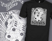 Vintage Rolling Stones Shirt - Tumbling Dice Tee - Gambling Gamblers Vegas T-Shirt