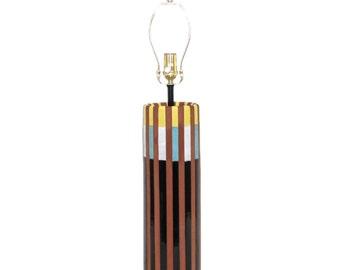Bitossi for Raymor Italian Pottery Lamp Mid-Century Modern