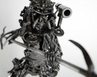 Mini Metal Hunter : 2hand Spear (small item)