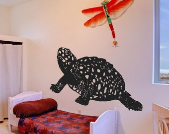 Vinyl Wall Decal Sticker Spotted Baby Turtle 5429m