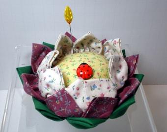 Lotus Pincushion, Pincushion Flower Pincushion