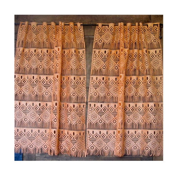 cottage lace curtains