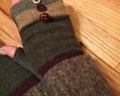 Wool fingerless glove