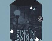 Singin' In The Rain alternative movie poster