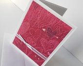 Valentine Greeting Cards:  Handmade Blank Note Card {Batch No.2} - Abounding Love For You