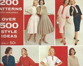 Butterick Home Catalog 200 Patterns Over 500 Style Ideas   Spring 1960